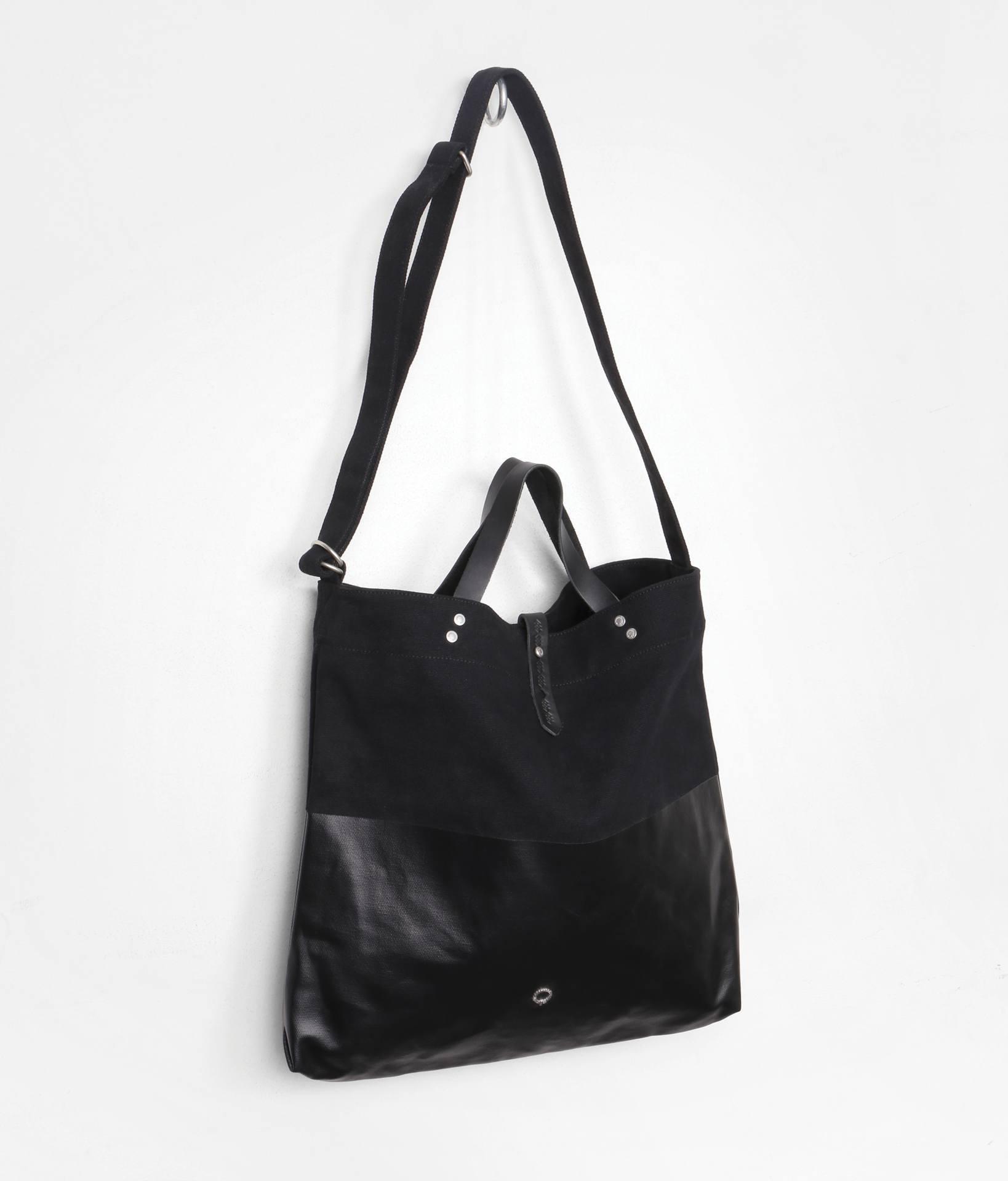Canvas shoulder tote bag - Kavan