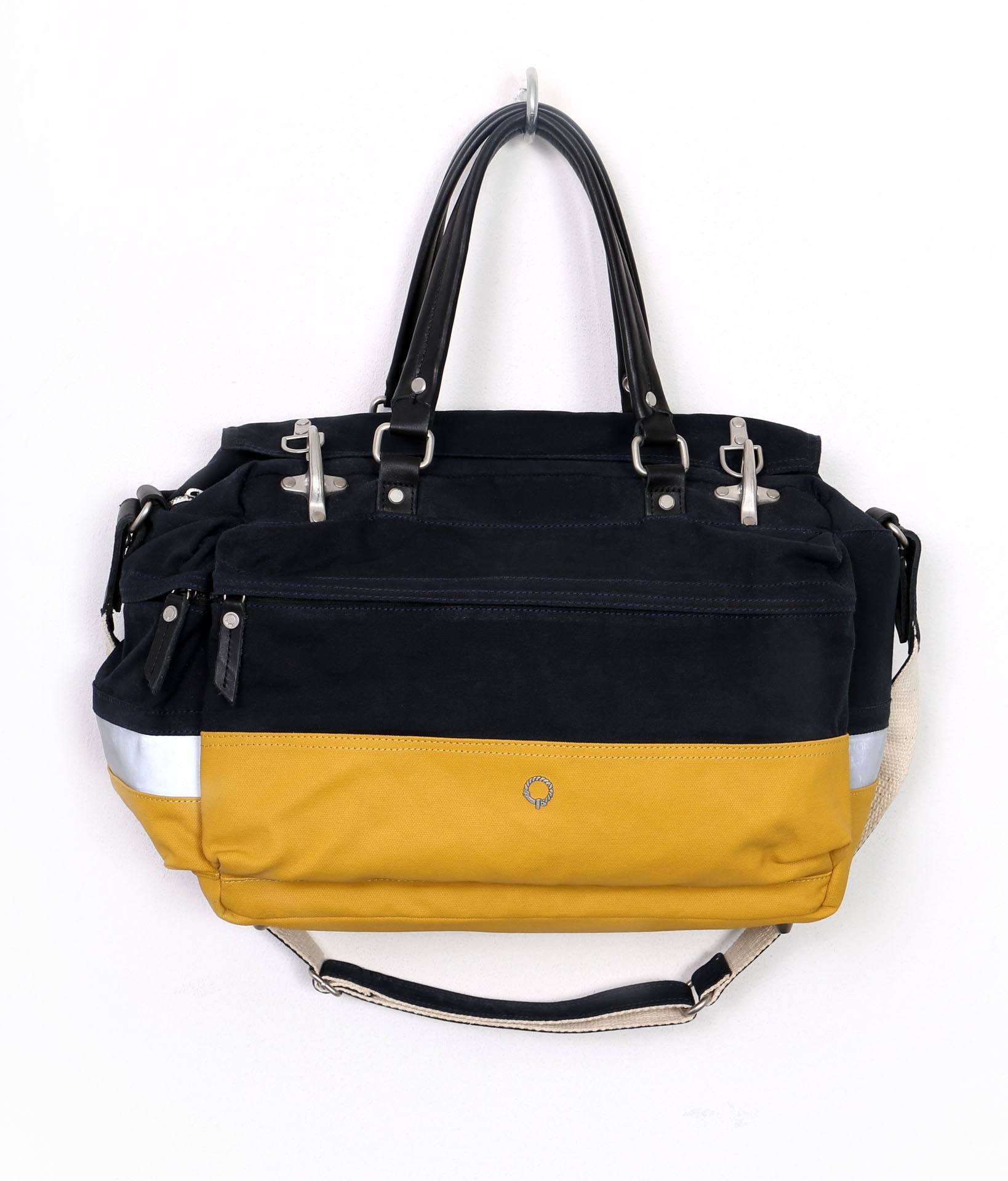 LACEY LAPTOP GRIP BAG Midnight Blue Yellow