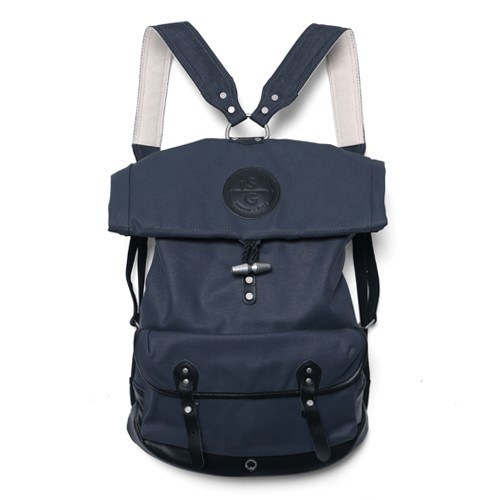 STIGHLORGAN REILLY LACQUERED CANVAS ROLLTOP BACKPACK