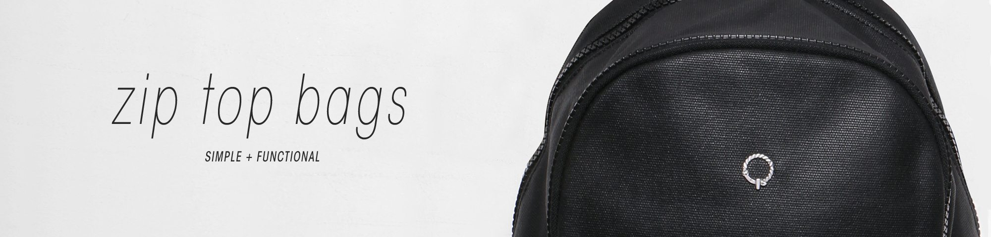 Zip Top Backpacks