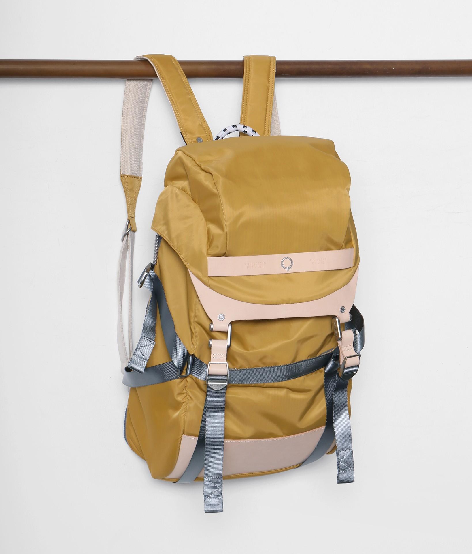 c7301510daa0 Stighlorgan - Plato laptop backpack - sun yellow